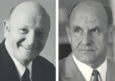 I Fondatori Max Böhler & Ferdinand Weber